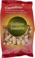 Cacahuetes con cáscara tostados - Produit - fr