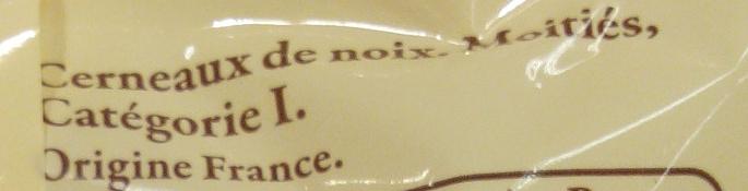 Cerneaux de noix du Dauphiné - Ingredients - fr
