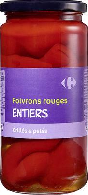 Poivrons rouges Entiers - Produit