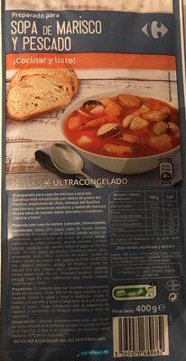 Preparado para Sopa de marisco y pescado - Producte