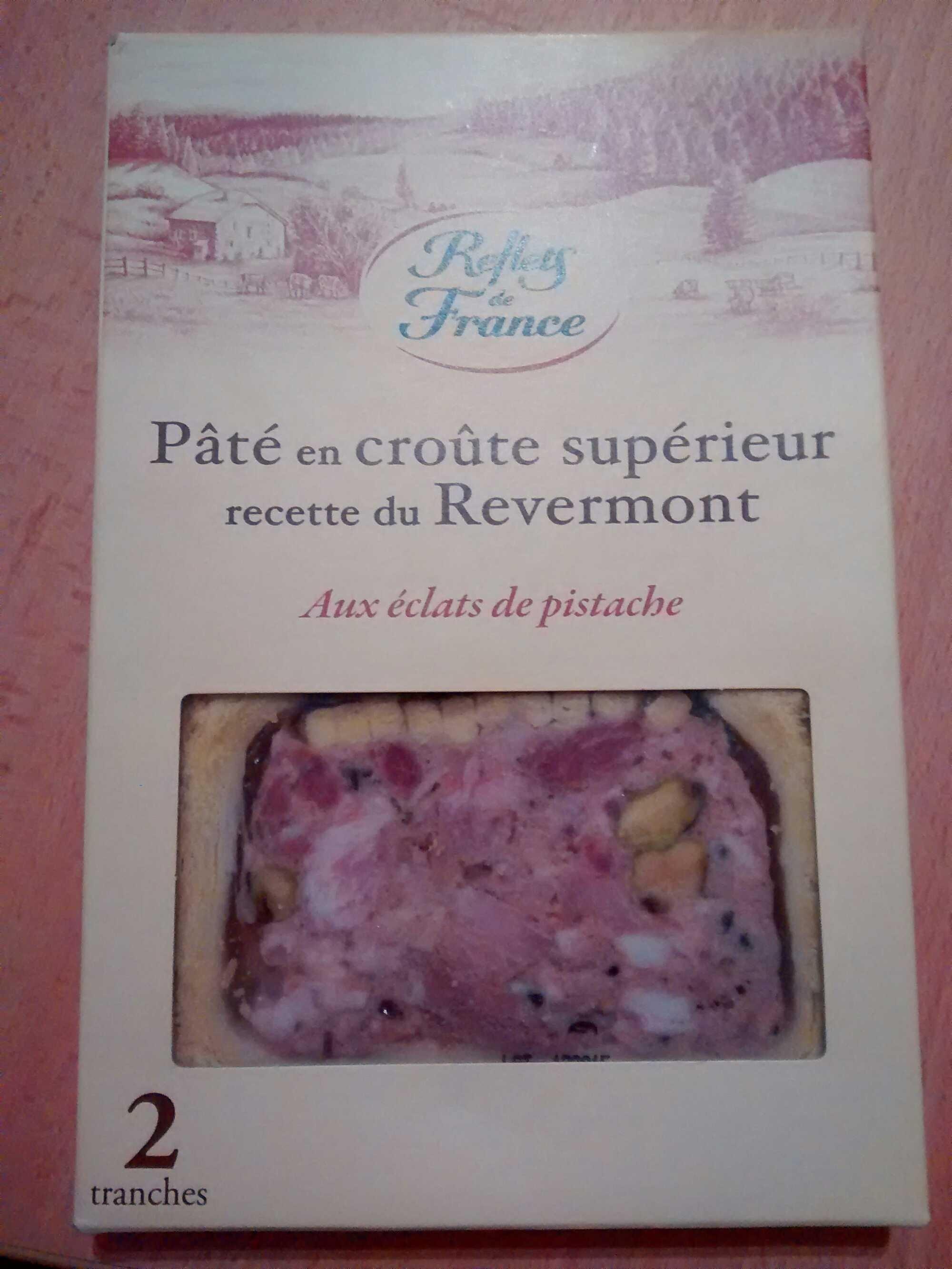 Pâté en croûte supérieur recette du Revermont (aux éclats de pistache) - Produit