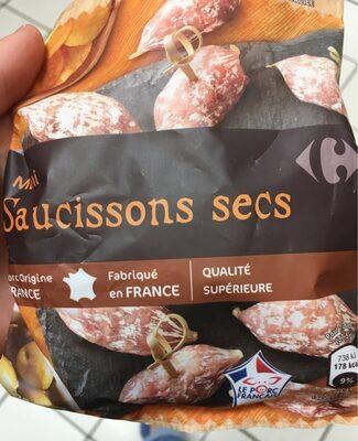 Mini Saucissons Secs - Produit - fr