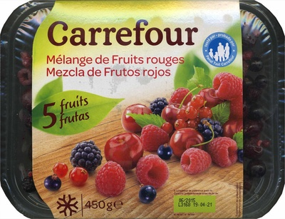 """Mezcla de frutas del bosque congeladas """"Carrefour"""" - Producto"""