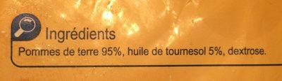 Frites Allumettes - Ingrediënten - fr