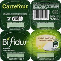 Bifidus saveur Vanille (4 Pots) - Product - fr