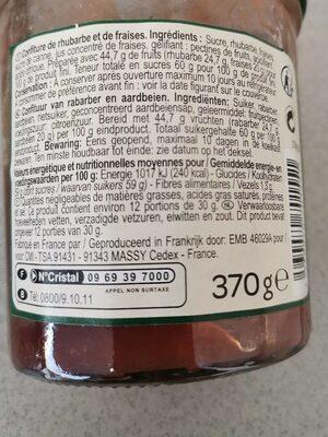 Confituur - Ingrediënten