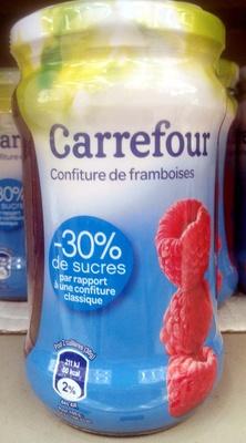 Confiture de framboises -30% de sucre - Produit - fr