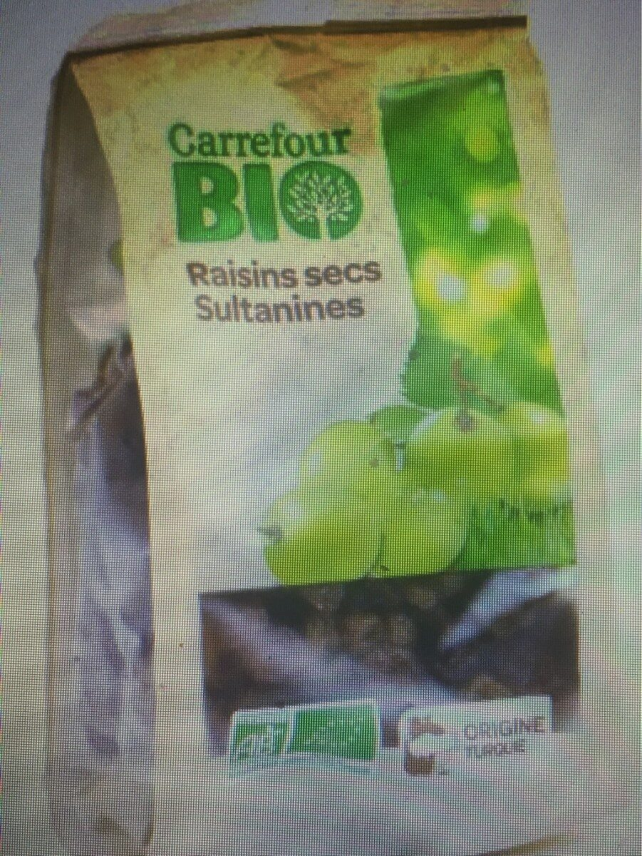 Raisins secs Sultanine - Produit - fr