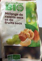 Mélange de raisins secs et de fruits secs bio - Product - fr