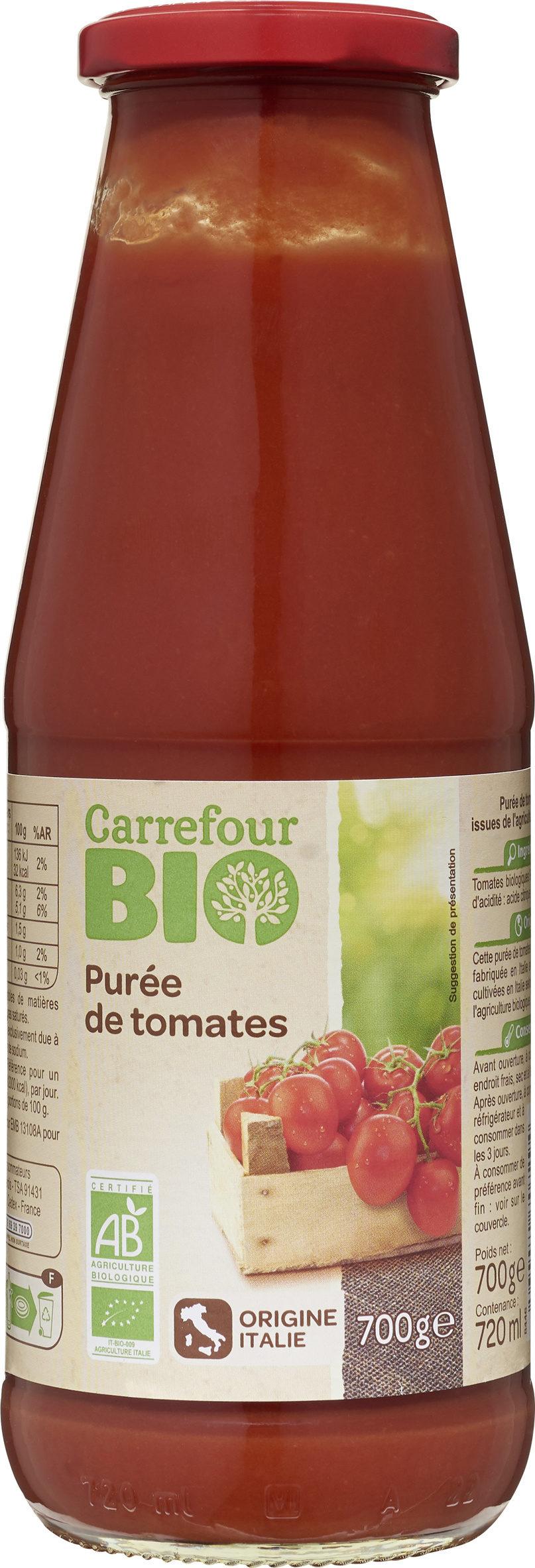 Purée de tomates BIO - Produit