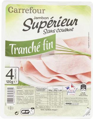 Jambon supérieur sans couenne - Product