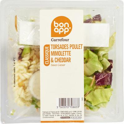 Torsades poulet, mimolette & cheddar - 11