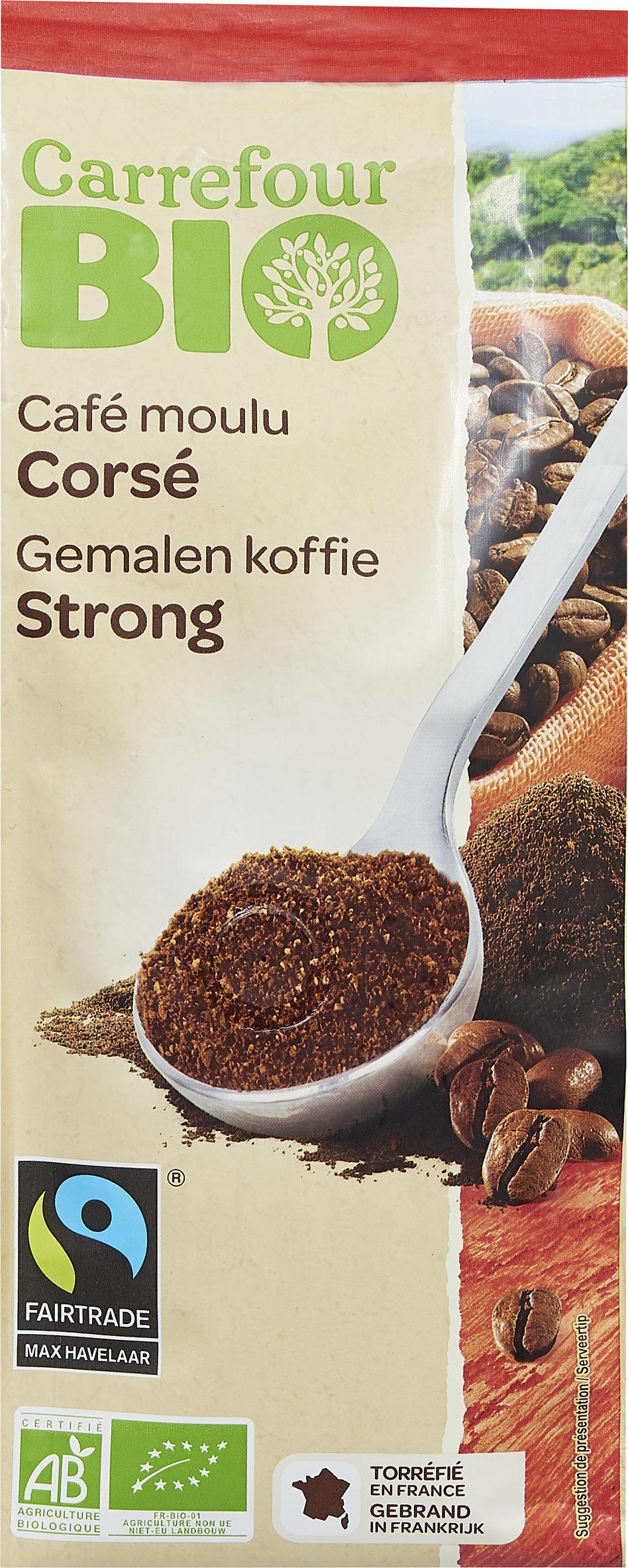 Café moulu corsé - Product