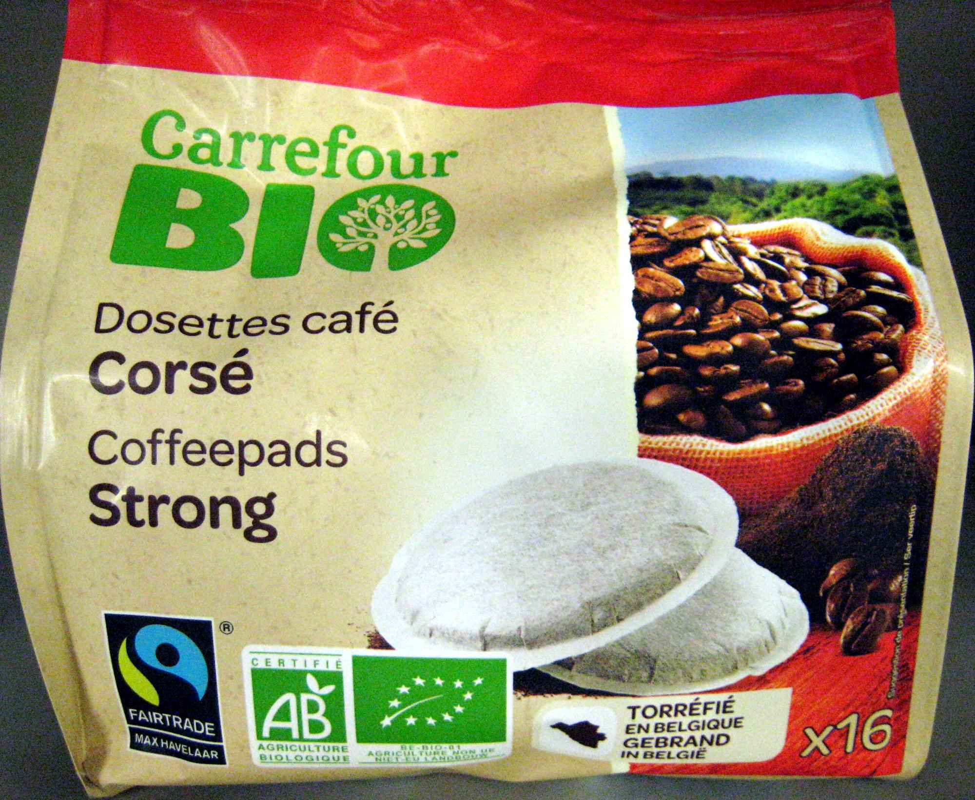 Dosettes café Corsé Bio - Product - fr