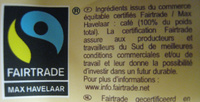Dosettes café Corsé Bio - Ingrediënten - fr