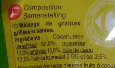 Cocktail Mix - Ingredients - fr