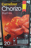 Chorizo fort - Product