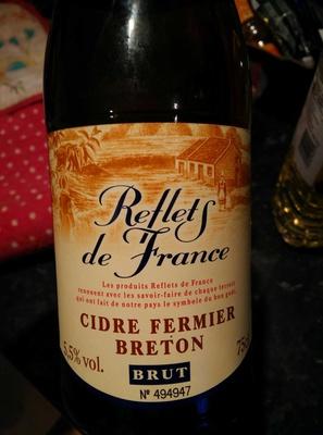 Cidre de Bretagne IGP - Fermier - Brut - Product - en