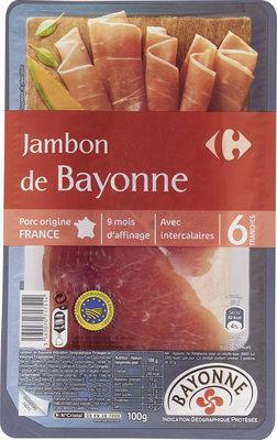 Jambon de Bayonne - Produit