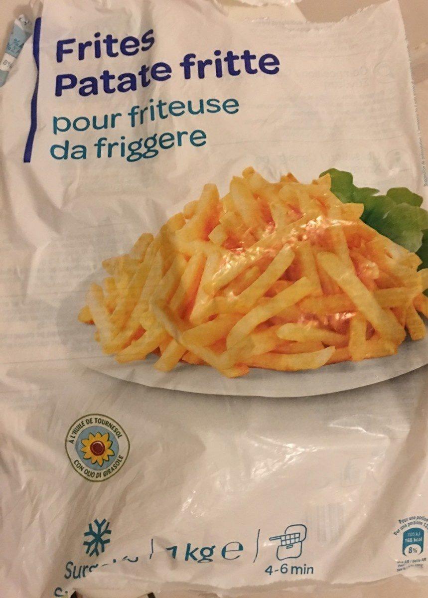 Frites Pour friteuse - Produit