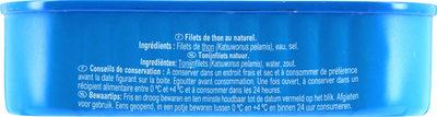 Filets de thon listao pêché à la canne - Product