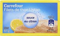 Filets de thon listao pêché à la canne - Product - fr