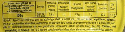 Filets de thon listao pêché à la canne - Ingredients - fr