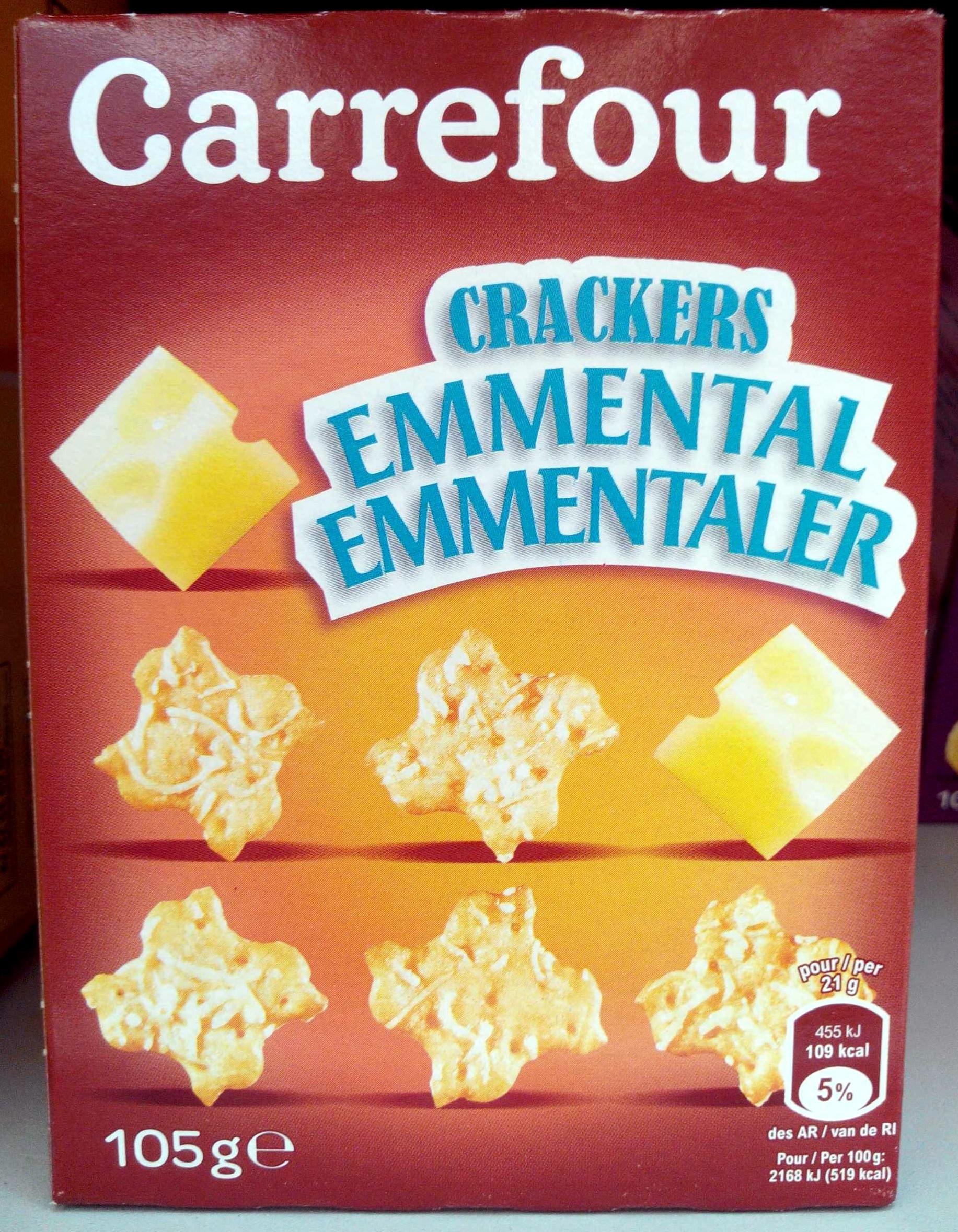 Crackers Emmental - Product - fr