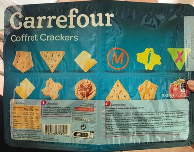 Carrefour coffret crackers - Product