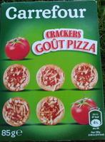 Crackers Goût Pizza - Produit - fr