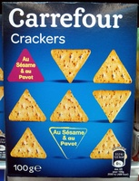 Crackers au sésame & au pavot - Product