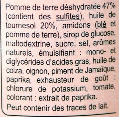 Tuiles GOÛT BARBECUE - Ingrédients - fr