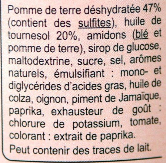 Tuiles Saveur Barbecue - Ingrediënten - fr