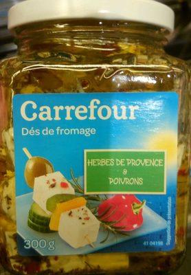 Dés de Fromage (Herbes de Provence & Poivrons) - Produit