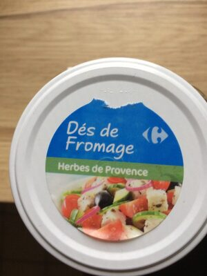 Dés de Fromage (Herbes de Provence & Poivrons) - Ingrédients