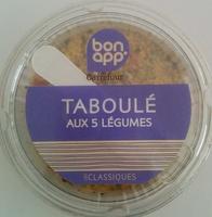 Taboulé aux 5 Légumes, Les Classiques - Produit - fr