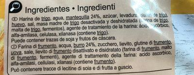 Croissants - Ingredients - fr