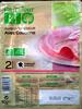 Jambon supérieure avec couenne 2 tranches Bio Carrefour - Product