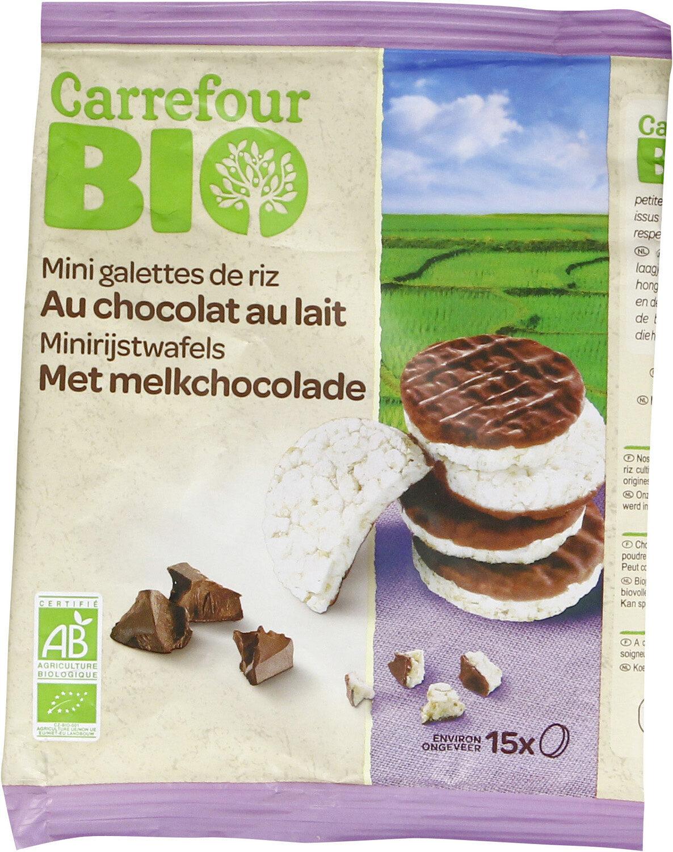 Mini galettes de riz au chocolat au lait - Prodotto - fr
