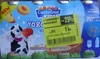 Yogolo Drink (x 4 Fraise-Banane) - (x 4 Pêche-Abricot)  - Produit