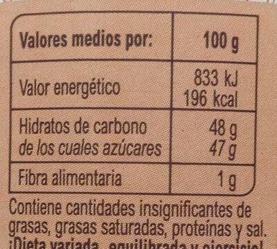 Mermelada fresa - Informations nutritionnelles - fr