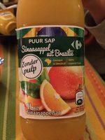 Jus orange Orange du bresil - Produit