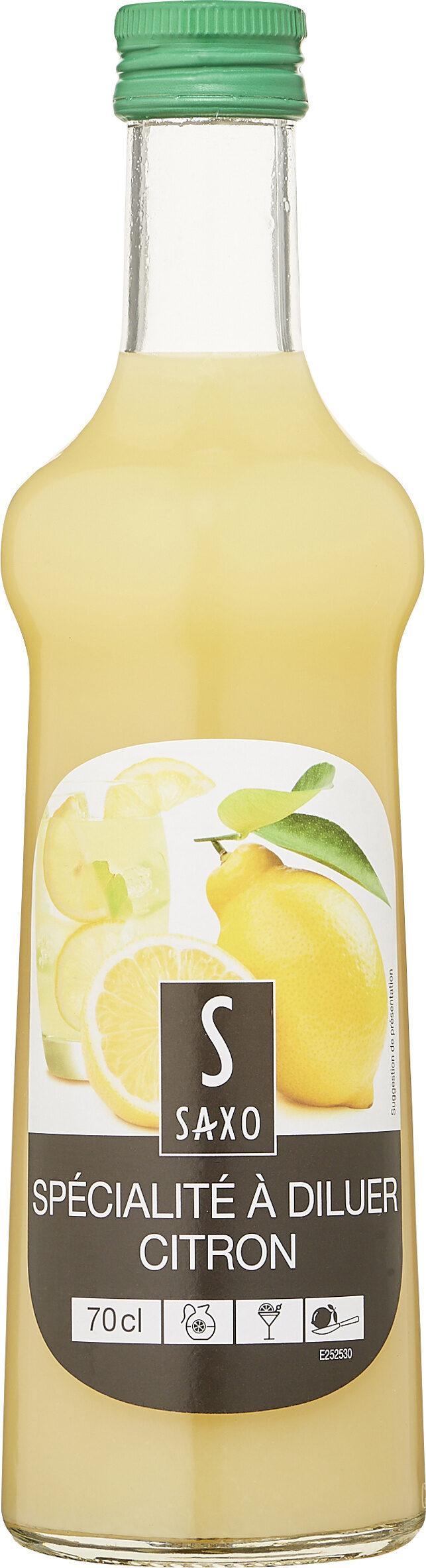 Spécialité à diluer Citron - Produit - fr