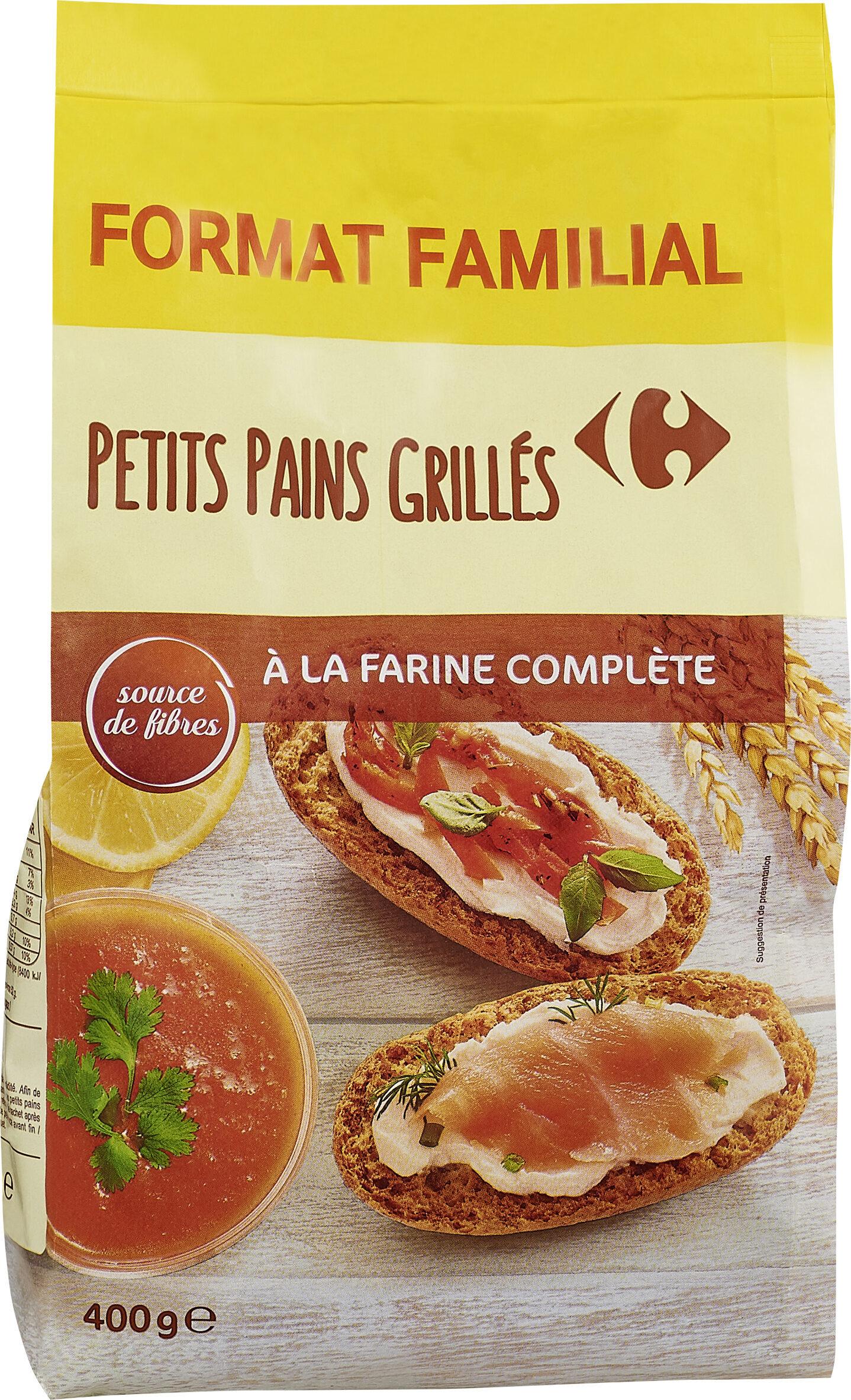 Petits pains grilles - Prodotto - fr