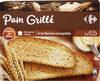 Pain grillé au blé complet - Prodotto