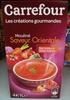 Les créations gourmandes Mouliné saveur Orientale Pois chiches & Pointe d'épices - Product