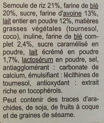Xtrem lait - Cœur fondant - Ingrédients - fr
