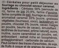 X'trem au chocolat saveur caramel - Ingrediënten - fr