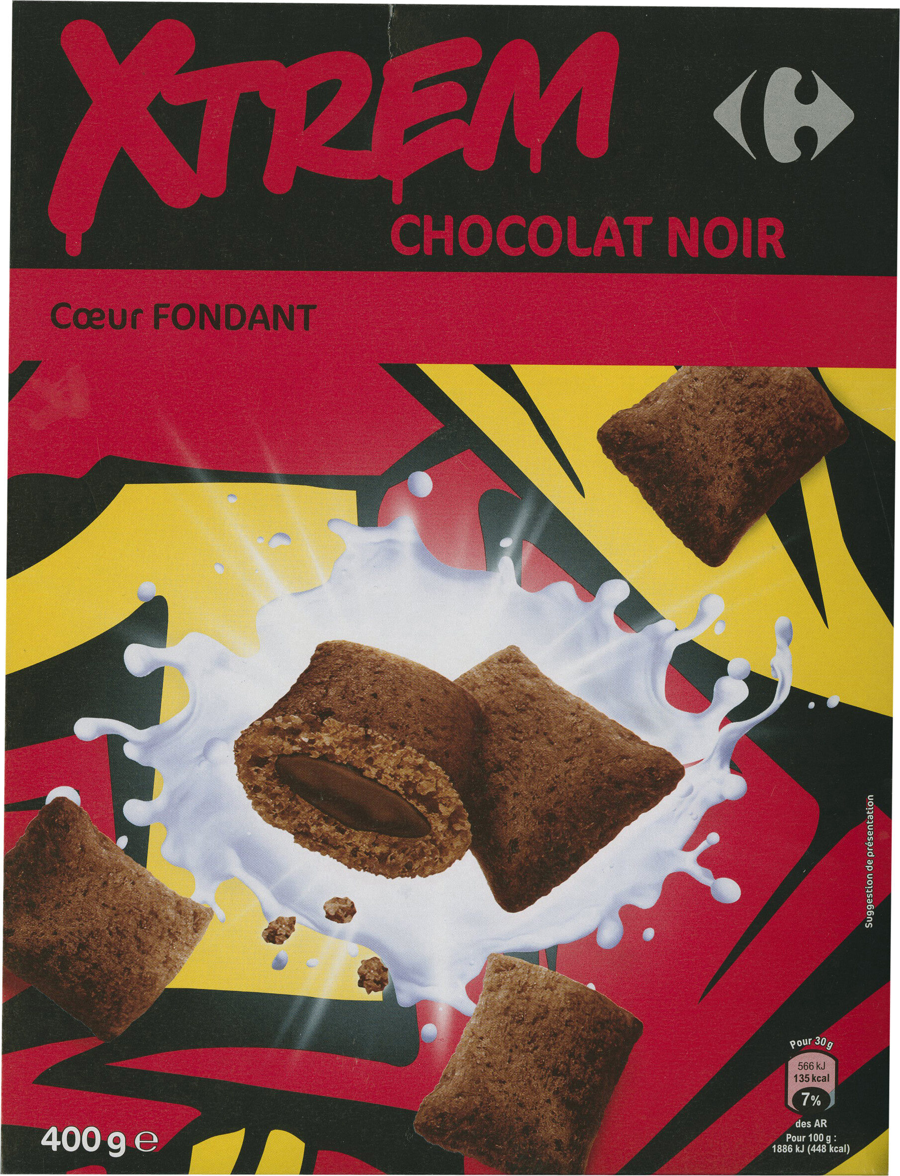 X'trem Cœur fondant chocolat noir intense - Produit - fr