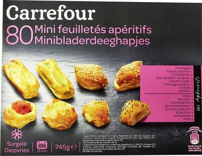 80 Mini Feuilletés Apéritifs - Product - fr